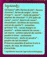 Petits Déj' muesli pépites de chocolat - Ingredients - fr