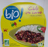 Chili con carne et son riz blanc Bio - Product