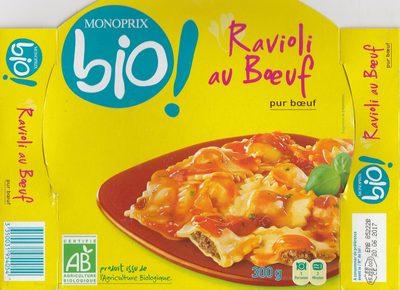 Ravioli au bœuf - Produit - fr