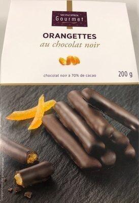 Orangettes au chocolat noir - Produit - fr
