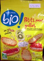 Petits pains grillés multi céréales Bio Monoprix - Produit - fr