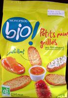 Petits pains grillés au froment Bio Monoprix - Product - fr