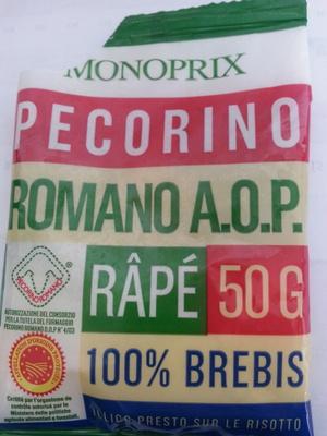 Pecorino râpé - Produit