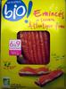Emincés de saumon Atlantique fumé Bio (6 à 9 tranches) - 100 g - Produit