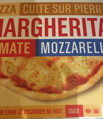 Pizza cuite sur pierre Margherita (Tomate, Mozzarella) - Produit - fr