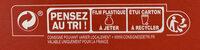 Pizza cuite sur pierre Margherita (Tomate, Mozzarella) - Istruzioni per il riciclaggio e/o informazioni sull'imballaggio - fr
