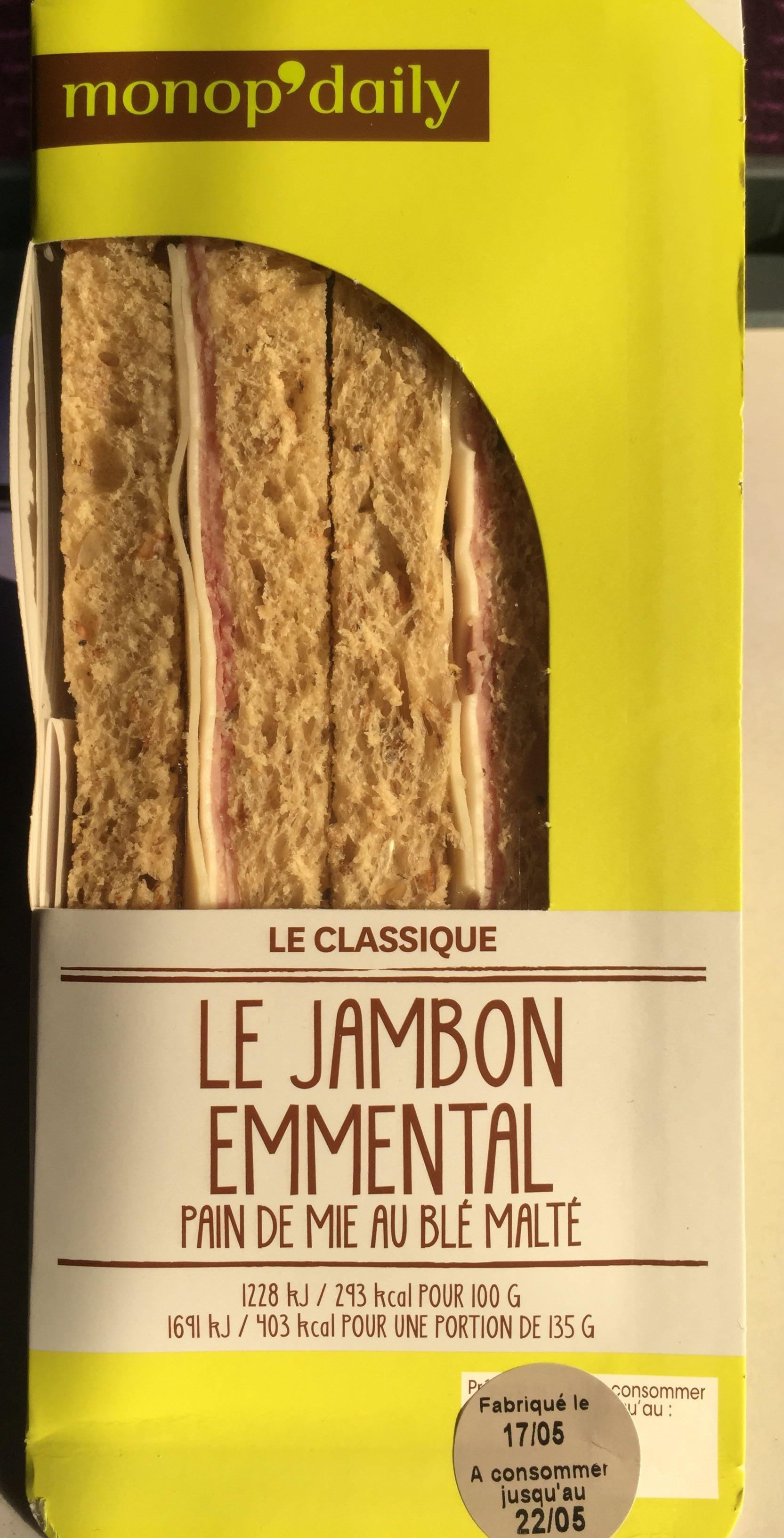 Le jambon emmental - Produit - fr