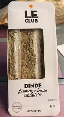 Dinde Fromage Frais Ciboulette - Produit - fr