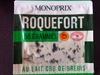 Roquefort AOP au lait cru de brebis (31 % MG) - Produit