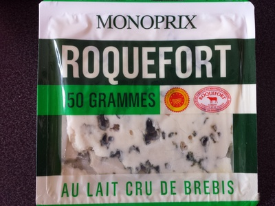 Roquefort AOP au lait cru de brebis (31 % MG) - Product - fr