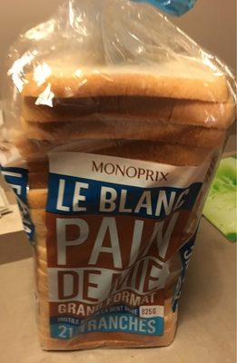 Pain de mie Le blanc, grand format - Produit - fr