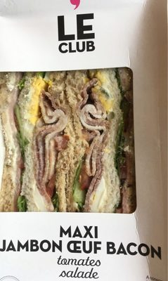 Le Club Oeuf Jambon Bacon - Produit - fr