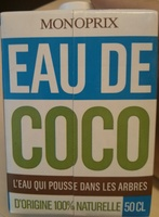 Eau de Coco - Produit