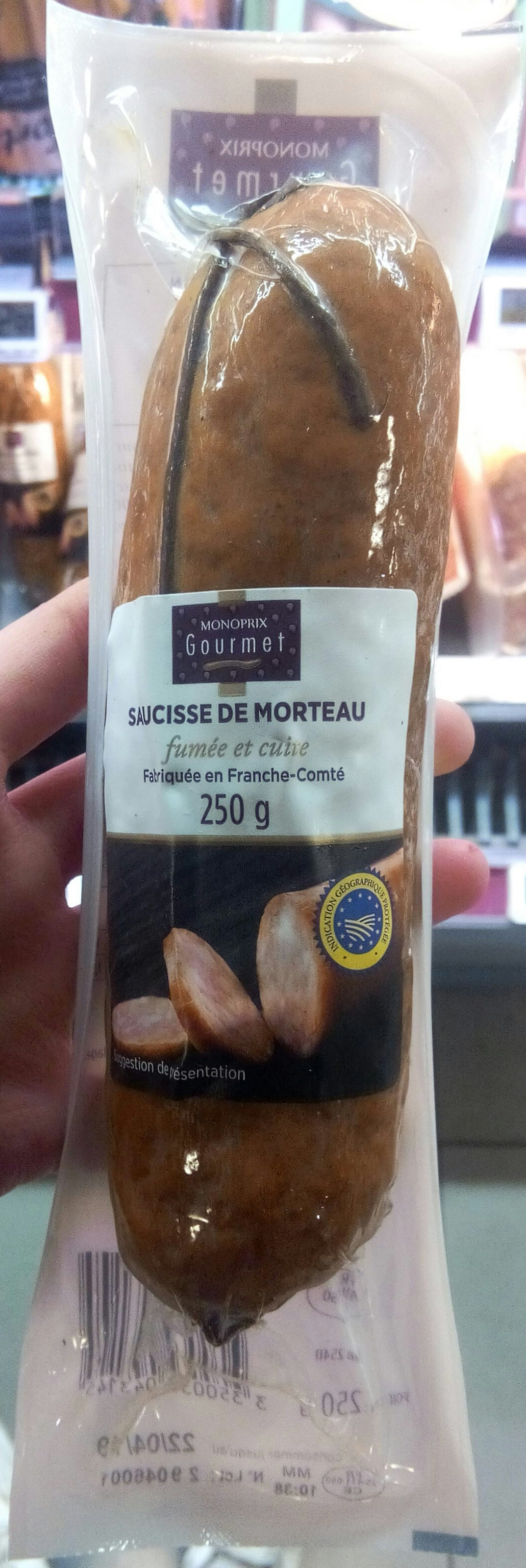 Saucisse de morteau - Product