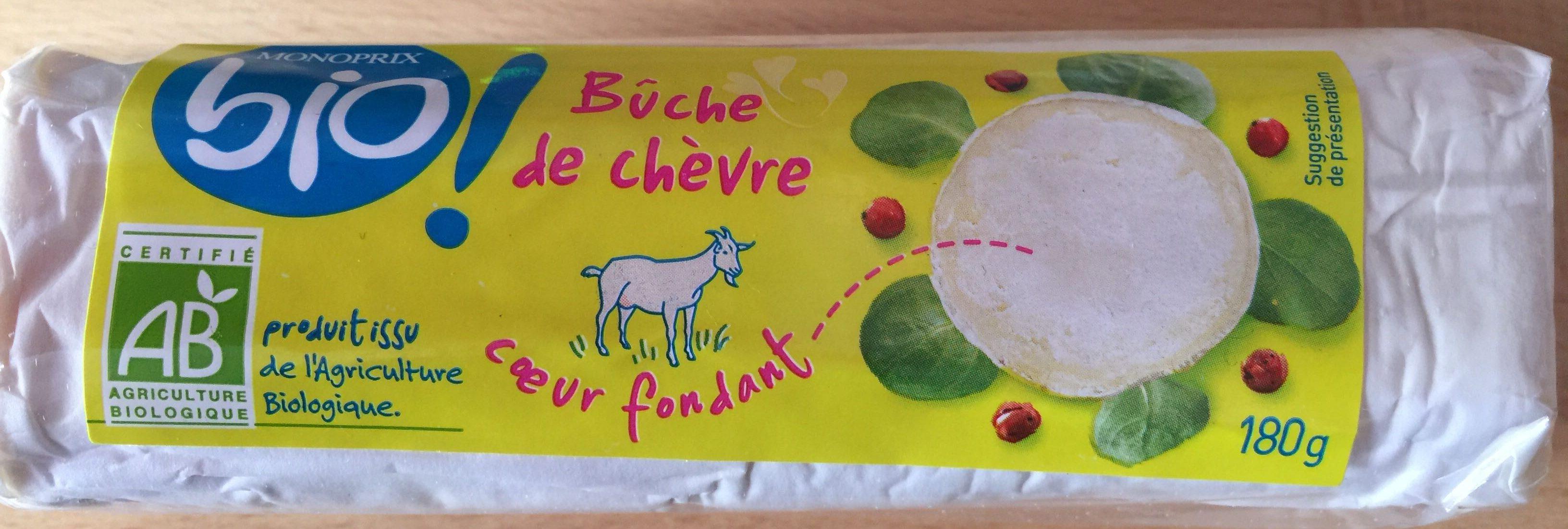 Bûche de chèvre coeur fondant - Product - fr