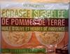 Ecrasées surgelées de pommes de terre - Product