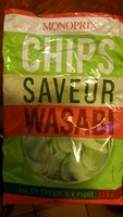 Chips saveur wasabi - Product - fr
