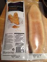 2 Baguettes précuites - Product - fr