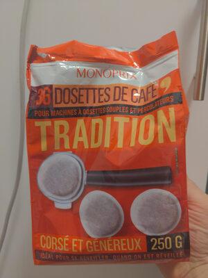 Dosettes de café tradition - Prodotto - fr