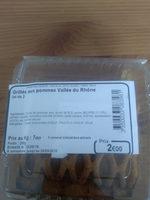 Grillés aux Pommes Vallée du Rhône - Produit - fr