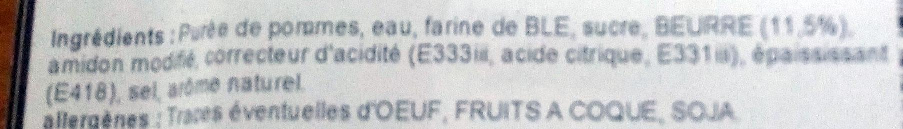 Grillés aux Pommes Vallée du Rhône - Ingrédients - fr