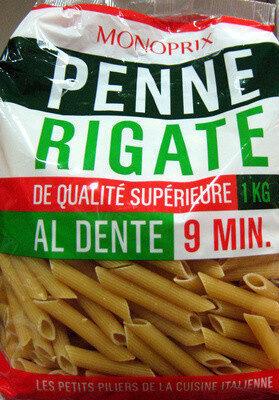 Penne Rigate (Al dente 9 min.) - Product - fr