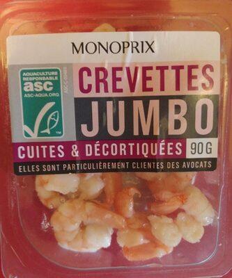 Crevettes Jumbo cuites & décortiquées - Prodotto - fr