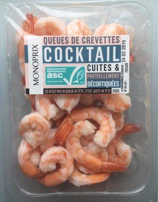 Queue de crevettes cocktail - Prodotto - fr