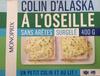 Colin d'Alaska à l'Oseille sans arêtes, Surgelé - Product
