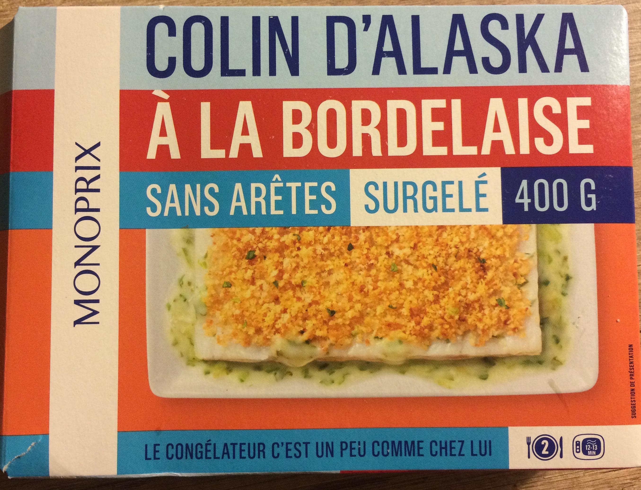 Colin d 39 alaska la bordelaise sans ar tes surgel - Cuisiner du colin surgele ...