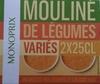 Mouliné de légumes variés - Produit
