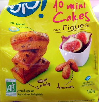 10 Mini Cakes aux Figues Bio - Product