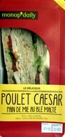 Poulet Caesar Pain de mie au blé malté - Product