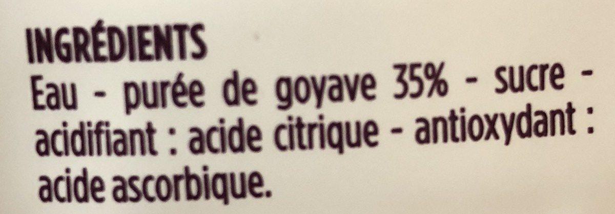 Nectar gourmand goyave origine Brésil - Ingredienti - fr