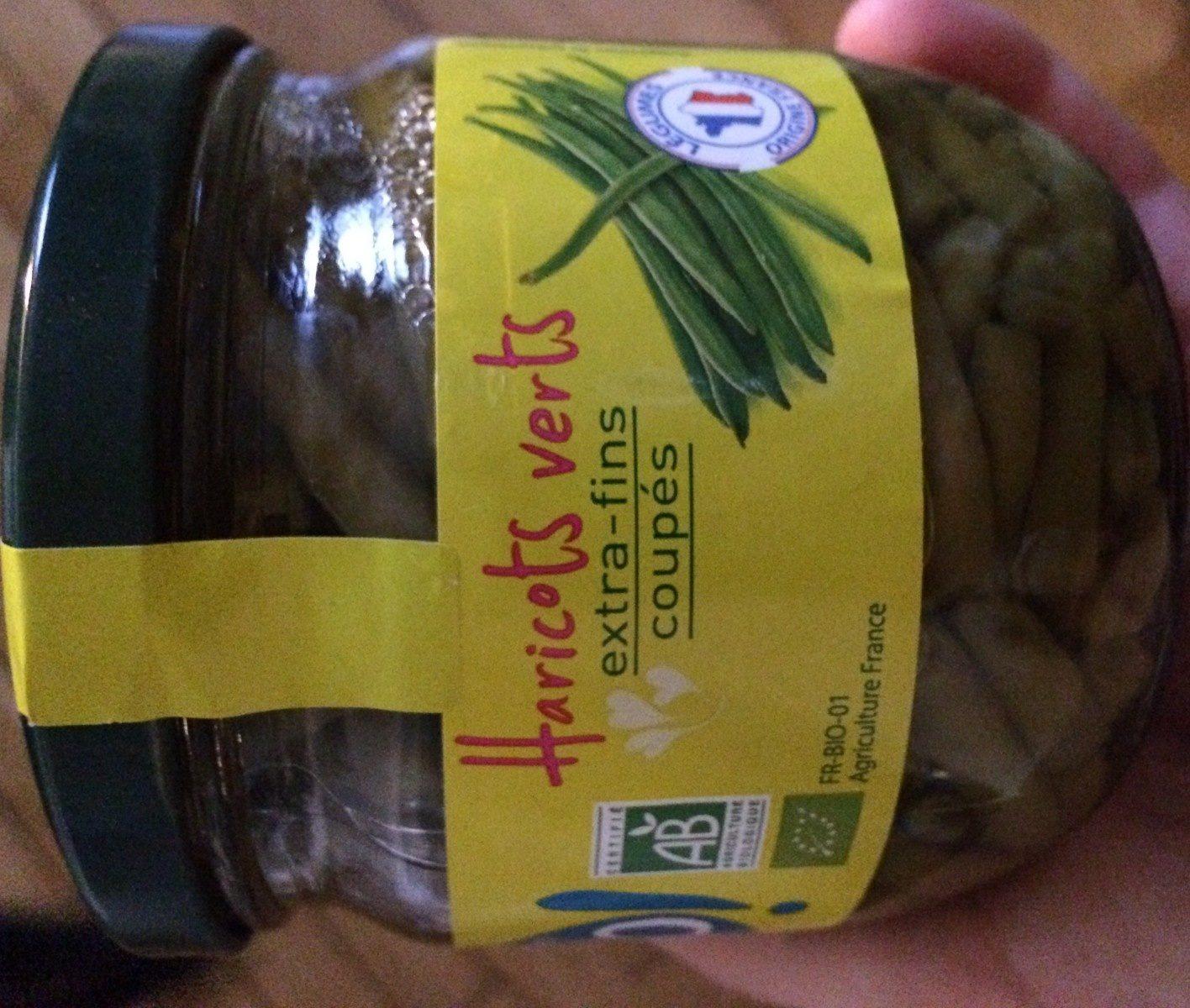 Haricots verts, extra-fins en conserve - Ingrédients