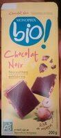 Chocolat noir aux Noisettes entières Bio - Prodotto - fr