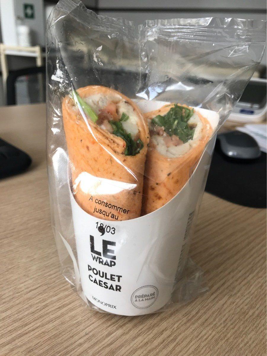 Wrap Poulet Sauce Caesar - Produit - fr