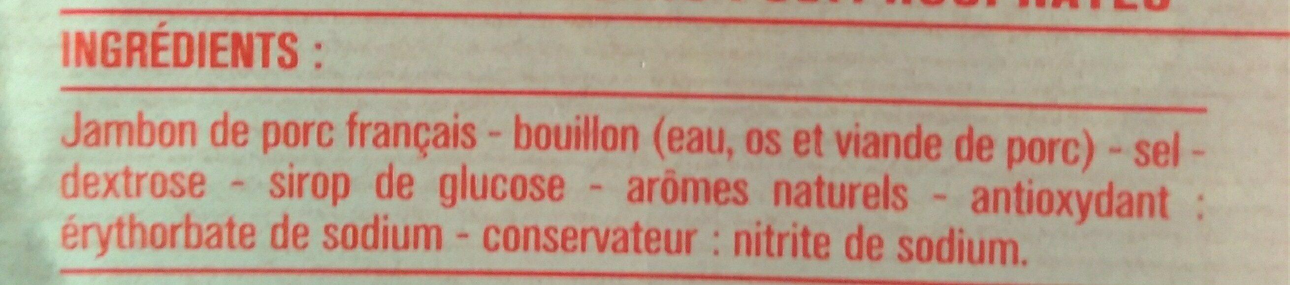 Jambon de Paris - Ingredients