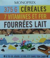 Céréales fourrées lait - Producto
