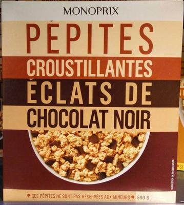 Pépites croustillantes éclats de chocolat noir - Produit
