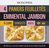 Paniers feuilletés emmental jambon - Product