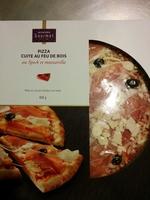 Pizza au speck et mozzarella - Produit - fr