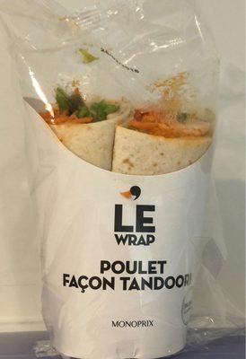 Wrap Poulet façon Tandoori - Product - fr