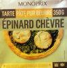 Tarte Épinard Chèvre - Produit