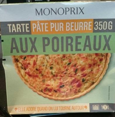 Tarte aux poireaux pâte pur beurre - Product - fr