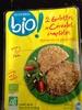 Monoprix galettes de céréales complètes épinards et pignons - Product