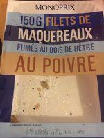 Filets de maquereaux au poivre - Product - fr