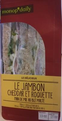 Jambon cheddar et roquette - Product