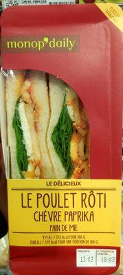 Le Délicieux Poulet rôti Chèvre Paprika - Produit - fr
