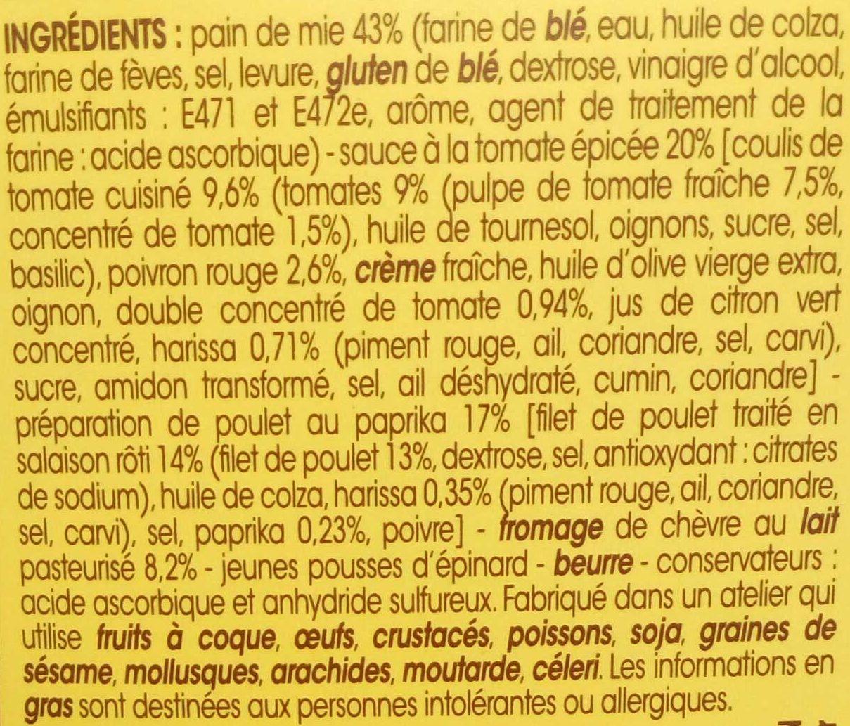 Le Délicieux Poulet rôti Chèvre Paprika - Ingrédients - fr